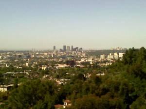 View of West LA
