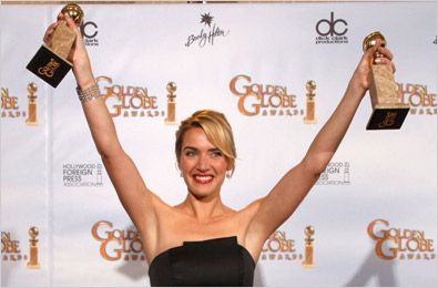 Kate Winslet won twice
